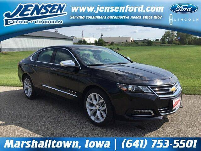 2017 Chevrolet Impala for sale at JENSEN FORD LINCOLN MERCURY in Marshalltown IA