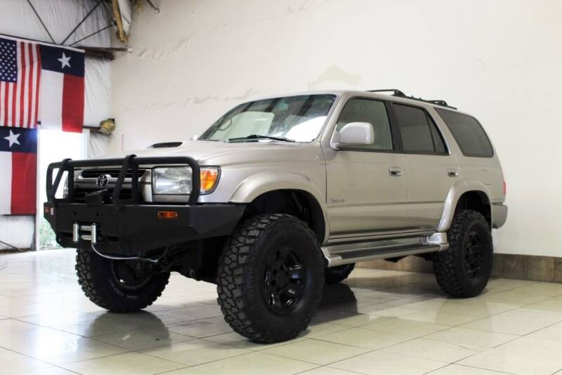 2002 Toyota 4Runner for sale at ROADSTERS AUTO in Houston TX