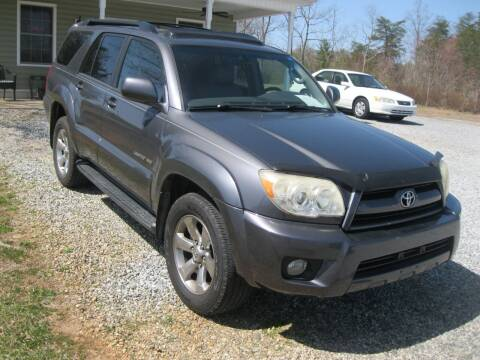 2007 Toyota 4Runner for sale at Judy's Cars in Lenoir NC