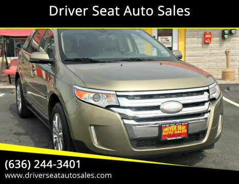 2013 Ford Edge for sale at Driver Seat Auto Sales in St. Charles MO