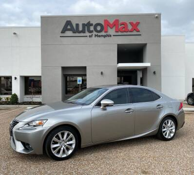 2015 Lexus IS 250 for sale at AutoMax of Memphis in Memphis TN