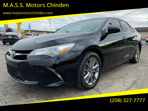 2017 Toyota Camry for sale at M.A.S.S. Motors Chinden in Garden City ID