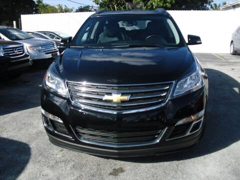 2017 Chevrolet Traverse for sale at SUPERAUTO AUTO SALES INC in Hialeah FL