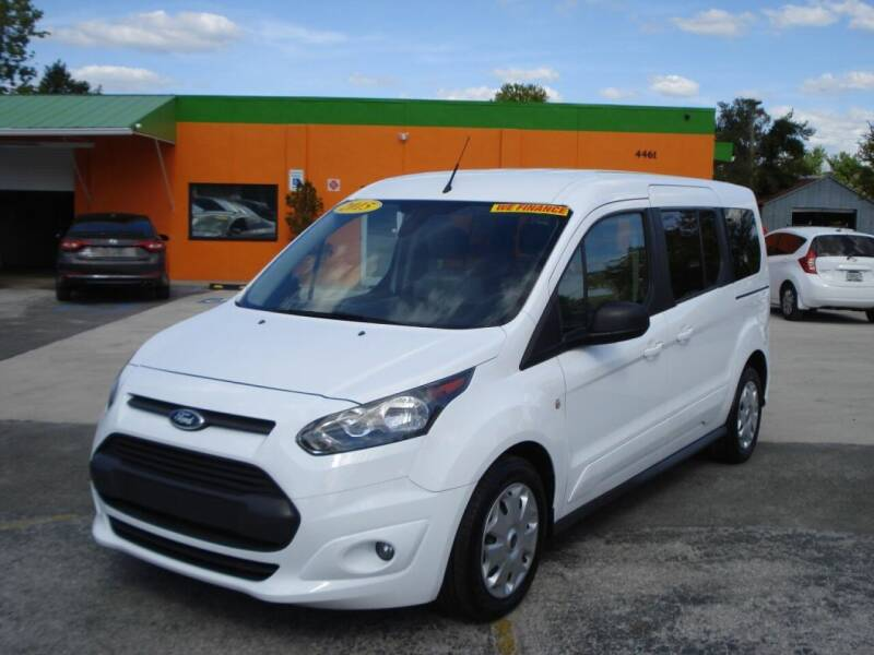 2015 Ford Transit Connect Wagon for sale at Galaxy Auto Service, Inc. in Orlando FL