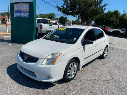 2010 Nissan Sentra for sale at Import Auto Mall in Greenville SC