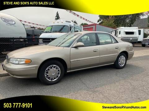 2002 Buick Century for sale at Steve & Sons Auto Sales in Happy Valley OR