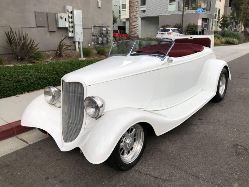 1933 Ford Roadster Custom for sale at Elite Dealer Sales in Costa Mesa CA