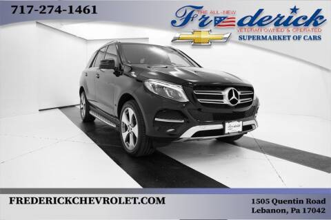 2018 Mercedes-Benz GLE for sale at Lancaster Pre-Owned in Lancaster PA