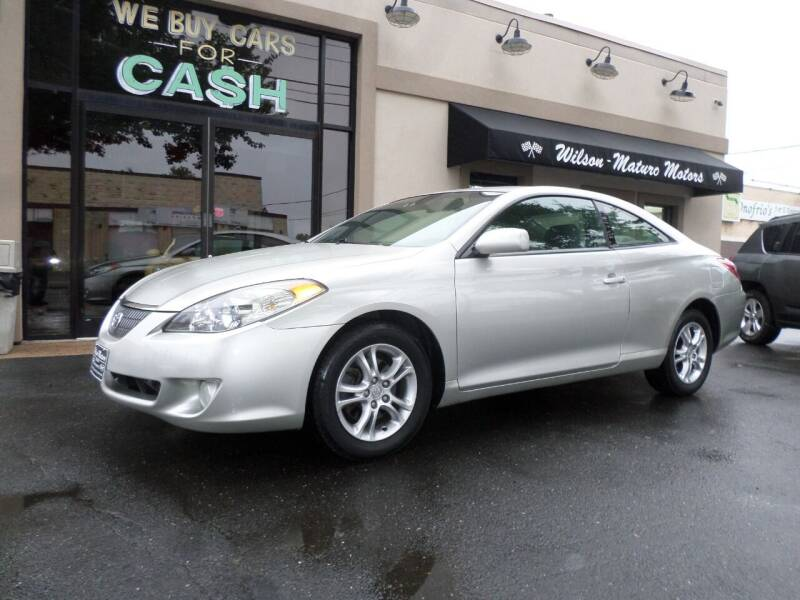 2005 Toyota Camry Solara for sale at Wilson-Maturo Motors in New Haven CT