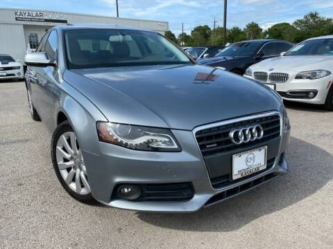 2010 Audi A4 for sale at KAYALAR MOTORS in Houston TX