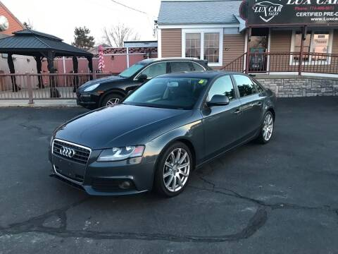 2009 Audi A4 for sale at Lux Car Sales in South Easton MA