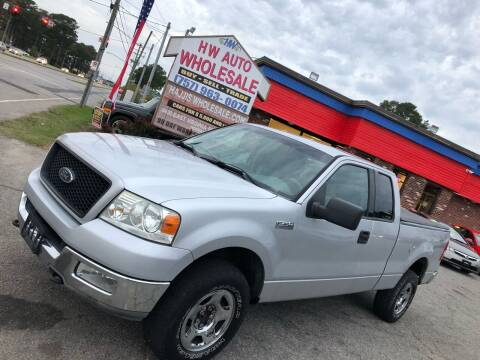 2004 Ford F-150 for sale at HW Auto Wholesale in Norfolk VA