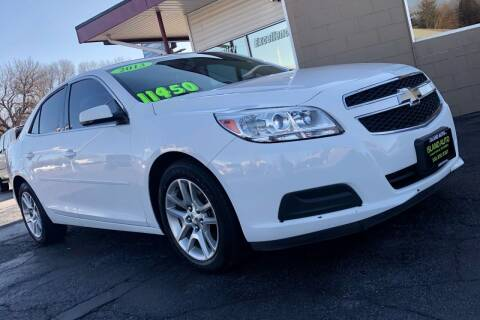 2013 Chevrolet Malibu for sale at Island Auto in Grand Island NE