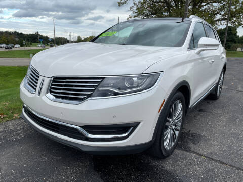 2016 Lincoln MKX for sale at Blake Hollenbeck Auto Sales in Greenville MI