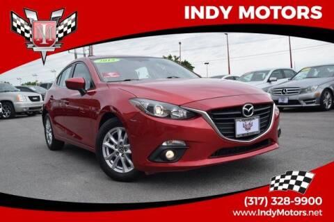 2015 Mazda MAZDA3 for sale at Indy Motors Inc in Indianapolis IN