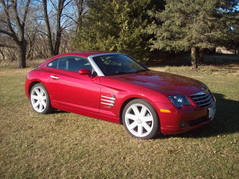 2004 Chrysler Crossfire for sale at S & S CLASSIC MOTORSPORTS INC in Ellendale MN