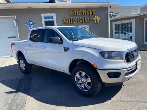 2020 Ford Ranger for sale at Fort Hays Auto Sales in Hays KS