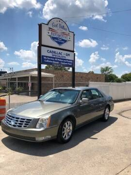 2010 Cadillac DTS for sale at East Dallas Automotive in Dallas TX