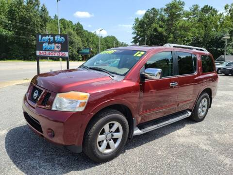 2012 Nissan Armada for sale at Let's Go Auto in Florence SC