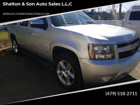 2012 Chevrolet Suburban for sale at Shelton & Son Auto Sales L.L.C in Dover AR