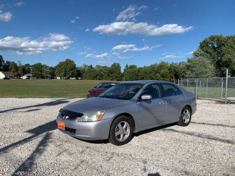 2004 Honda Accord for sale at Ultimate Auto Sales in Crown Point IN