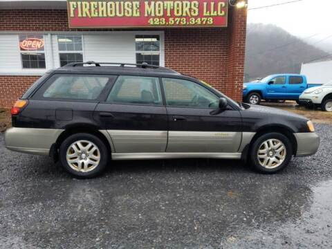 2002 Subaru Outback for sale at Firehouse Motors LLC in Bristol TN
