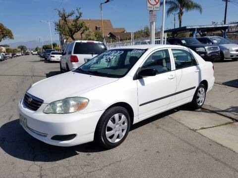 2006 Toyota Corolla for sale at Olympic Motors in Los Angeles CA
