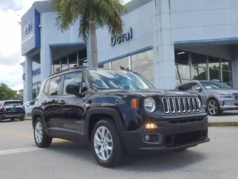 2015 Jeep Renegade for sale at DORAL HYUNDAI in Doral FL