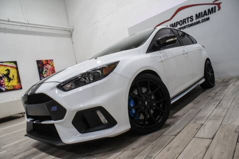 2017 Ford Focus for sale at AUTO IMPORTS MIAMI in Fort Lauderdale FL