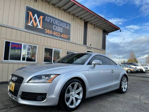 2008 Audi TT for sale at M & A Affordable Cars in Vancouver WA