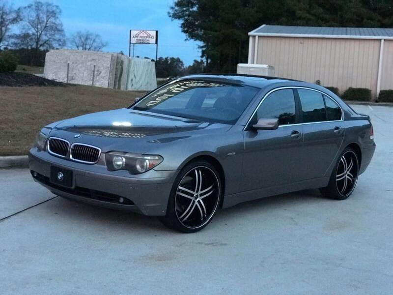 2002 BMW 7 Series for sale at Two Brothers Auto Sales in Loganville GA