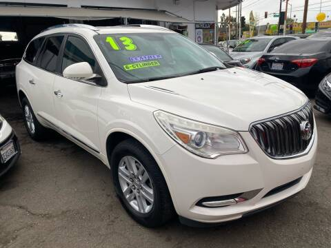 2013 Buick Enclave for sale at CAR GENERATION CENTER, INC. in Los Angeles CA