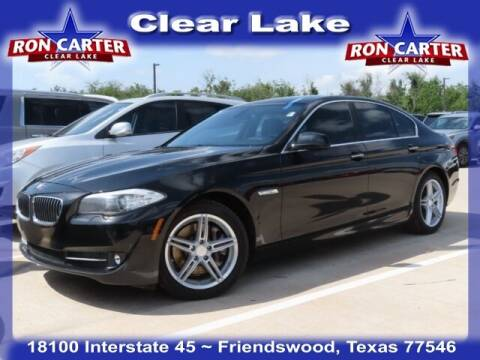 2012 BMW 5 Series for sale at Ron Carter  Clear Lake Used Cars in Houston TX
