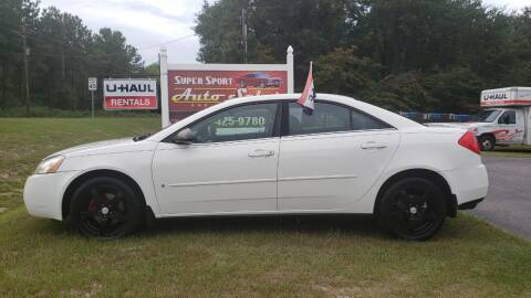 2008 Pontiac G6 for sale at Super Sport Auto Sales in Hope Mills NC