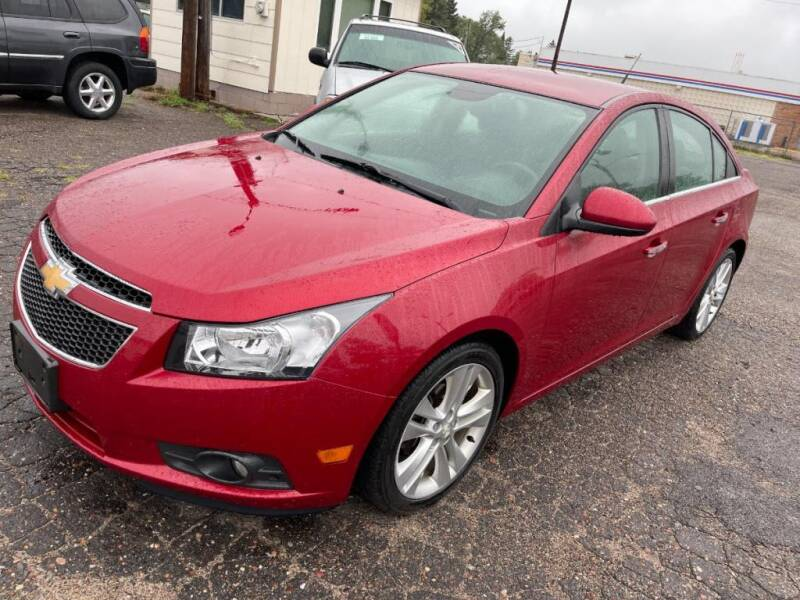 2014 Chevrolet Cruze for sale at CHRISTIAN AUTO SALES in Anoka MN