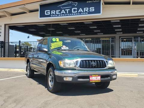 2002 Toyota Tacoma for sale at Great Cars in Sacramento CA