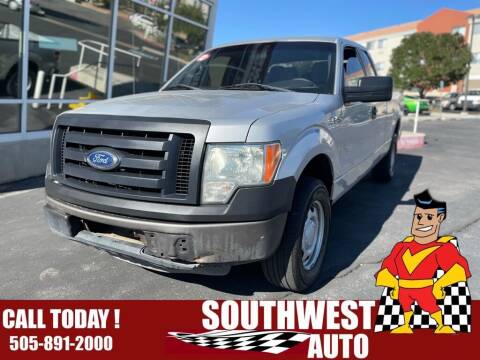 2012 Ford F-150 for sale at SOUTHWEST AUTO in Albuquerque NM