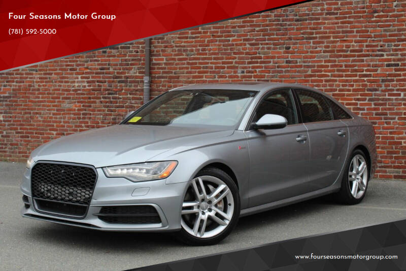 2014 Audi A6 for sale at Four Seasons Motor Group in Swampscott MA