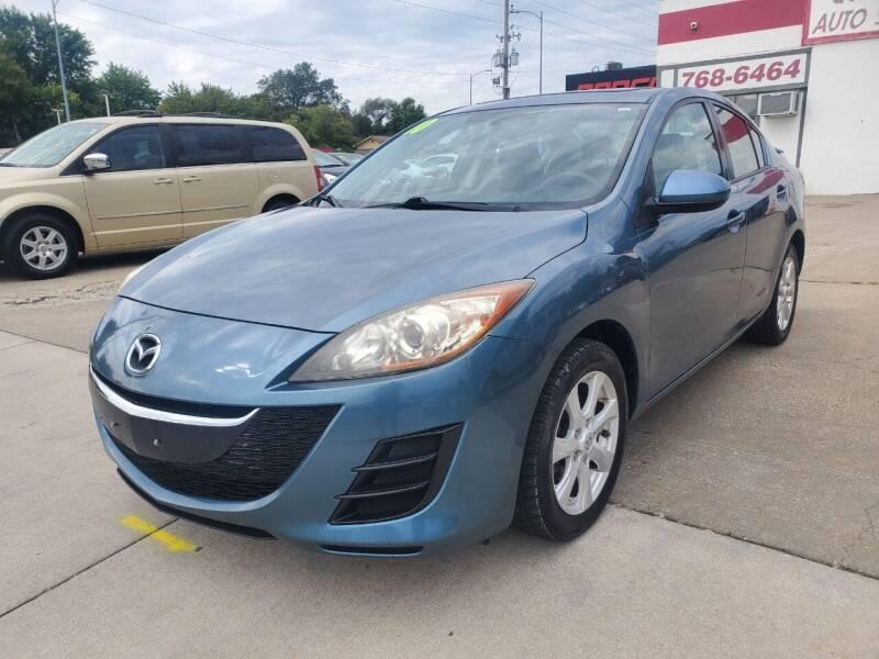 2010 Mazda MAZDA3 for sale at Quallys Auto Sales in Olathe KS