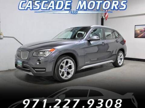 2014 BMW X1 for sale at Cascade Motors in Portland OR