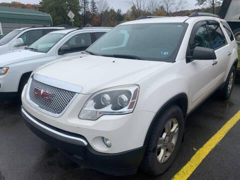 2012 GMC Acadia for sale at BURNWORTH AUTO INC in Windber PA
