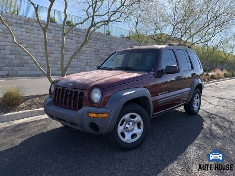 2003 Jeep Liberty for sale at AUTO HOUSE TEMPE in Tempe AZ