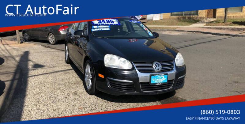2007 Volkswagen Jetta for sale at CT AutoFair in West Hartford CT