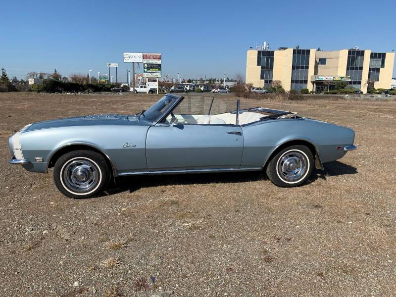 1968 Chevrolet Camaro for sale at Classic Car Addiction in Marysville WA