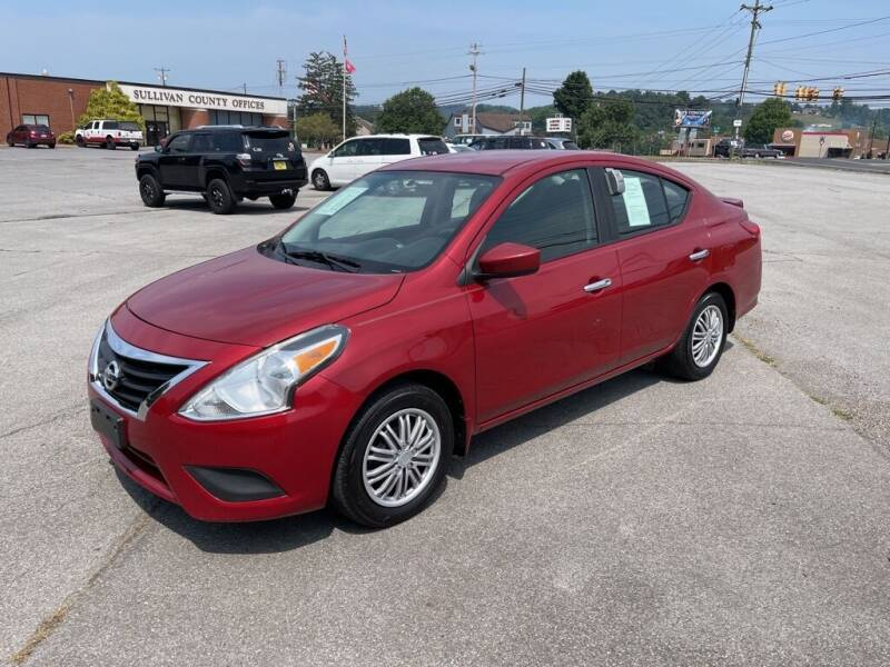2015 Nissan Versa for sale at Carl's Auto Incorporated in Blountville TN