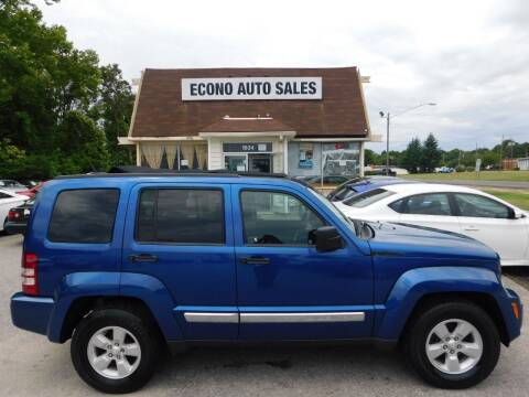 2009 Jeep Liberty for sale at Econo Auto Sales Inc in Raleigh NC