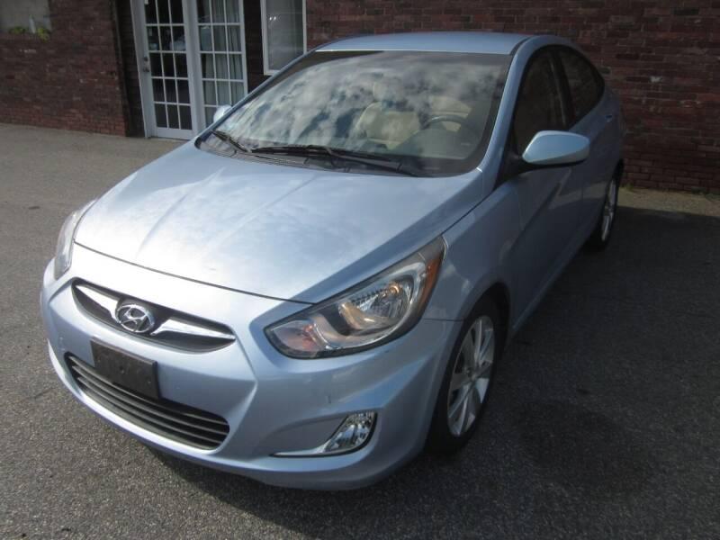 2012 Hyundai Accent for sale at Tewksbury Used Cars in Tewksbury MA
