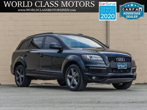 2015 Audi Q7 for sale at World Class Motors LLC in Noblesville IN