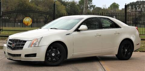 2008 Cadillac CTS for sale at Texas Auto Corporation in Houston TX