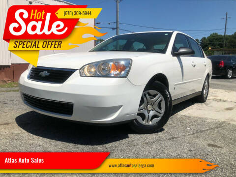 2007 Chevrolet Malibu for sale at Atlas Auto Sales in Smyrna GA